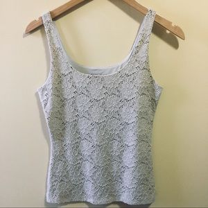 White House Black Market Lace Camisole Tank XS